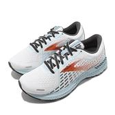 Brooks 慢跑鞋 Adrenaline GTS 21 D Wide 寬楦 白 藍 女鞋 運動鞋 【ACS】 1203291D193