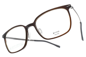 VYCOZ 光學眼鏡 BOSS BRN (棕-銀) 休閒簡約款 環保材質 鈦眼鏡 # 金橘眼鏡