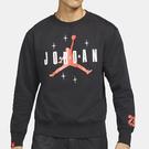 Nike JORDAN 男裝 長袖 休閒 大學T 23 Jumpman 刷毛 黑【運動世界】DO9153-010