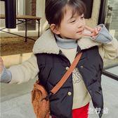 女童馬甲 冬2018新款加厚外穿洋氣加絨背心兒童馬夾秋冬 BF16346【旅行者】