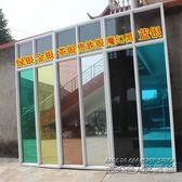 透明玻璃貼膜鏡面貼紙客廳陽台移門窗戶隔熱防曬遮光家用 IGO