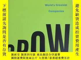 二手書博民逛書店Grow:罕見How Ideals Power Growth and Profit at the Worlds G