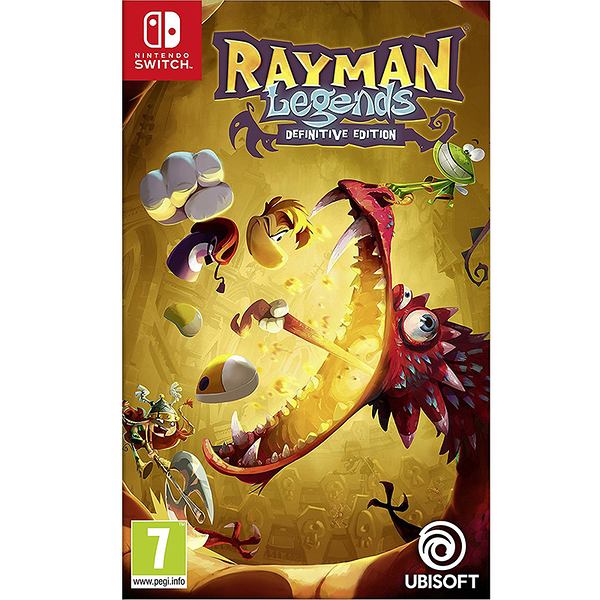 NS 雷射超人:傳奇 決定版 -英文版- Switch Rayman Legends Definitive Edition