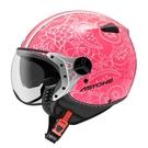 【東門城】ASTONE KSS DD90(螢光桃粉紅/白)3/4半罩式安全帽