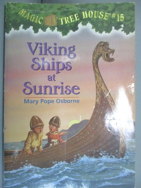 【書寶二手書T6/原文小說_KLK】Viking Ships at Sunrise_Osborne, Mary Pope