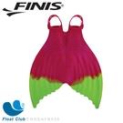 FINIS 兒童款矽膠雙色漸層美人魚鰭(紅黃)) 游泳魚蹼裝 美人魚蹼 游泳訓練 游泳蛙蹼