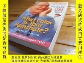 二手書博民逛書店What罕見Color Is Your Parachute?,