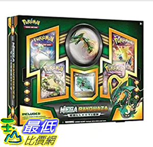 [8美國直購] Pokemon TCG: Mega Rayquaza Collection Figure Box B00VYX20A0