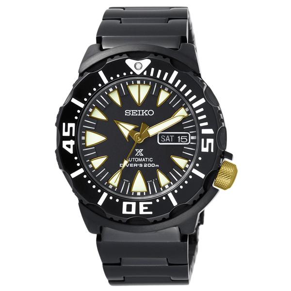 SEIKO 海面巡察時尚機械腕錶-SRP583K1