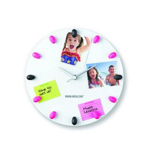 【4M】00426 美勞創意-造型Memo鐘 (小豬) Magnetic Memo Clock-Piggy