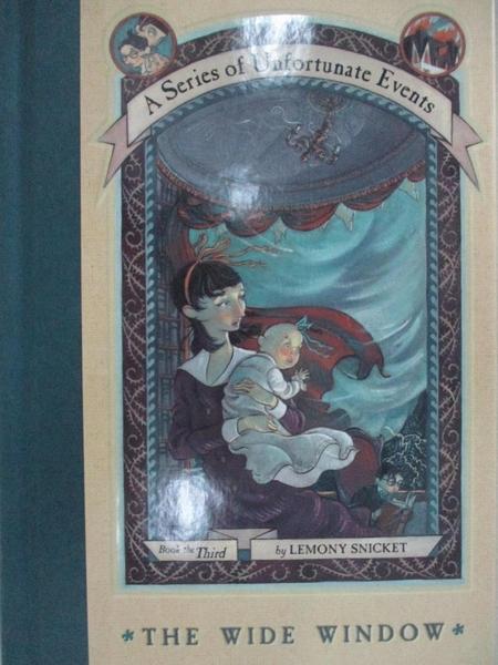 【書寶二手書T9/原文小說_BIJ】The Wide Window_Snicket, Lemony/ Helquist, Brett (ILT)