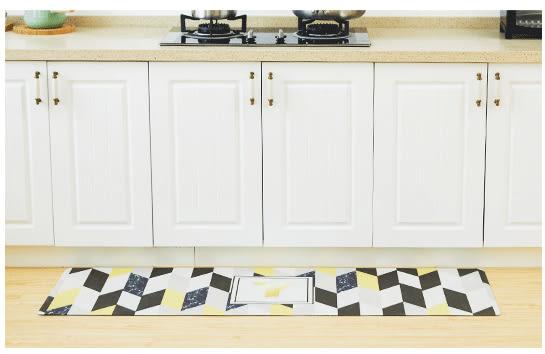 時尚創意地墊230 廚房浴室衛生間臥室床邊門廳 吸水長條防滑地毯(45*120cm)