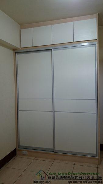 系統家具/台中系統家具/台中室內裝潢/系統家具推薦/系統櫃/台中系統櫥櫃/拉門衣櫃-sm0164