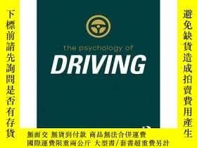 二手書博民逛書店萬物心理學系列:駕駛心理學罕見英文原版 Psychology of Driving Graham J. Hole