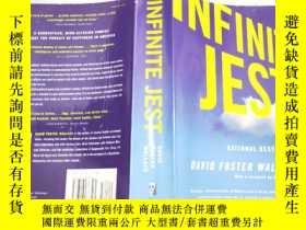 二手書博民逛書店英文原版罕見Infinite Jest 16開Y11403 David Foster Wallace Back