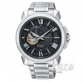 【分期0利率】SEIKO 精工錶 Premier 機械錶 43mm 4R39-00S0D 簍空 SSA371J1