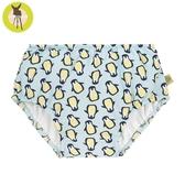 德國Lassig-嬰幼兒抗UV游泳尿布褲-薄荷企鵝