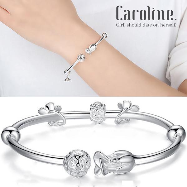 《Caroline》★925銀手環.典雅設計優雅時尚品味流行時尚手環69260