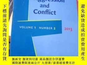 二手書博民逛書店Journal罕見of Language Aggression