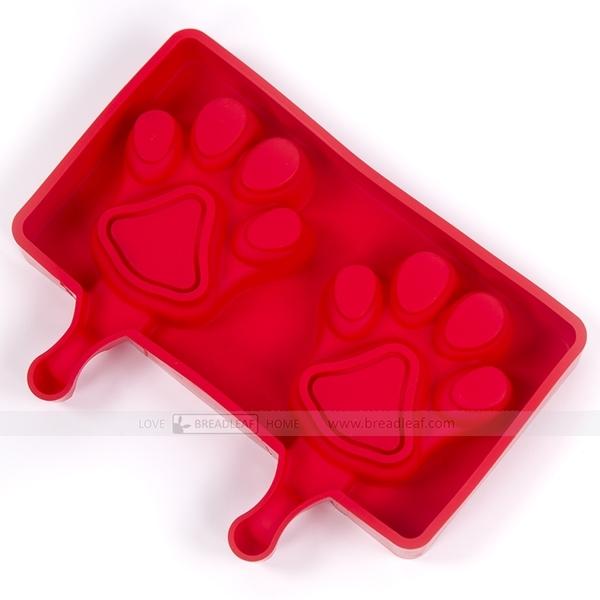 breadleaf 2連 貓爪造型冰棒模【B068】棒蛋糕矽膠模/雪糕模具/食品級矽膠DIY烘焙模具/枝仔冰模