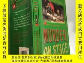 二手書博民逛書店murder罕見on stage 舞臺上的謀殺Y200392