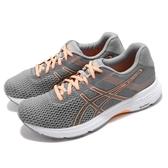 【六折特賣】Asics 慢跑鞋 Gel-Phoenix 9 灰 橘 九代 避震透氣 女鞋 亞瑟士 運動鞋【ACS】 T872N020