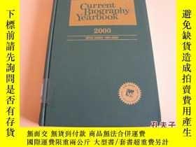 二手書博民逛書店CURRENT罕見BIOGRAPHY YEARBOOK 2000