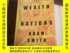二手書博民逛書店the罕見wealth of nations adam smit