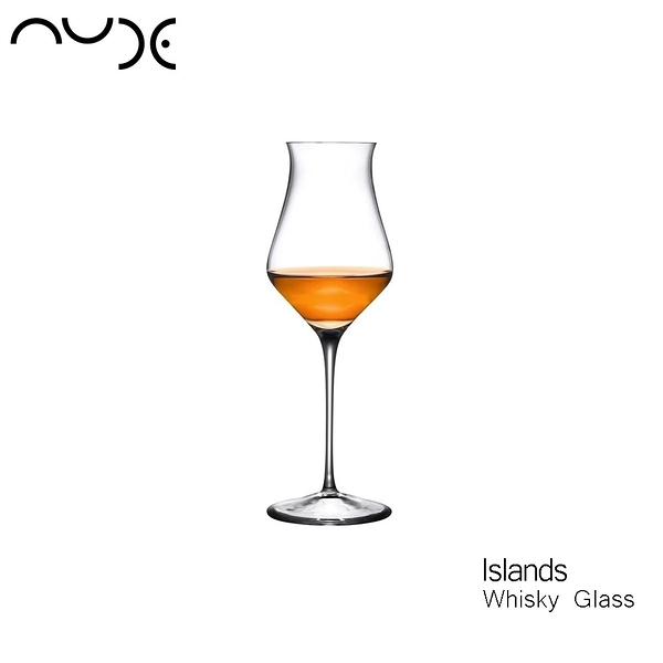 nude Islands Whisky Glass 威士忌品酒杯 205mL 手工水晶玻璃 試飲杯 品酒杯 威士忌杯