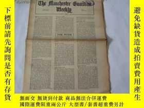 二手書博民逛書店外文原版報紙罕見THE MANCHESTER GUARDIAN WEEKLY 1948年4月1日 第14期 共16