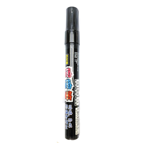 CKS玻璃白板擦擦筆-黑(圓頭)【愛買】