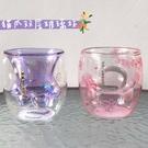 2020貓爪杯粉色櫻花萬圣節南瓜貓抓玻璃紫櫻貓尾水杯子
