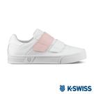 K-SWISS Court Lite Velcro休閒運動鞋-女-白/粉紅