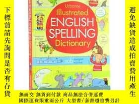 二手書博民逛書店[英文原版]Illustrated罕見English Spelling Dictionary 圖解英語Y335
