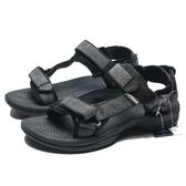 AIRWALK  黑幾何線 涼鞋  男 (布魯克林) A825230220