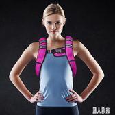 負重背心跑步裝備男隱形沙袋訓練健身運動馬甲3公斤沙衣 DJ4640『麗人雅苑』