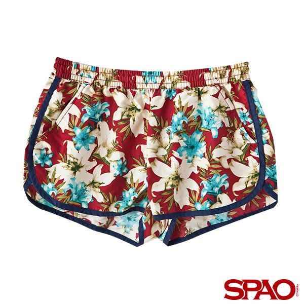 SPAO女款休閒海灘風短褲-共2色