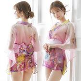 情趣內衣服大碼女性感夜店激情套裝騷日本和服制服誘惑血滴子透視