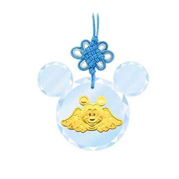 迪士尼系列金飾-彌月金飾禮盒-金福氣米奇款