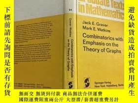 二手書博民逛書店Combinatorics罕見with Emphasis in the Theory of GraphsY17