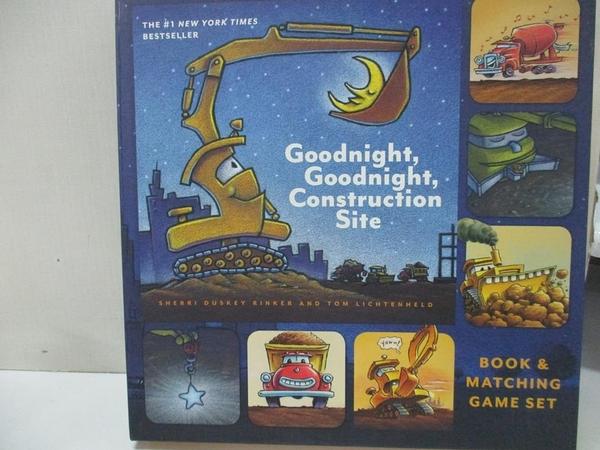 【書寶二手書T5/少年童書_DL6】Goodnight, Goodnight, Construction Site