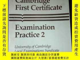 二手書博民逛書店Cambridge罕見First Certificate Examination Practice 2Y161