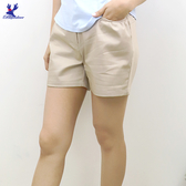 【春夏新品】American Bluedeer - 舒適素面短褲 二色
