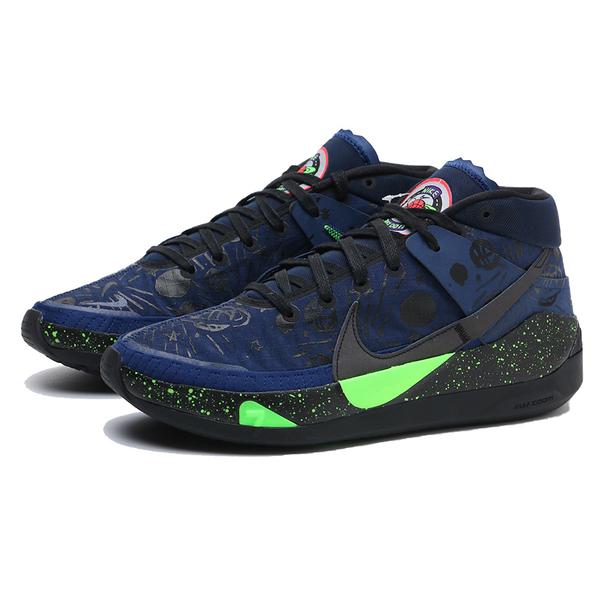 NIKE 籃球鞋 KD13 PLANET OF HOOPS EP 避震 雙層氣墊 杜蘭特 男 (布魯克林) CI9949-400