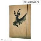 *╮寶琦華Bourdance╭*匈牙利DanzArte進口禮品☆DA芭蕾A4檔案夾【DA1611FOA4】