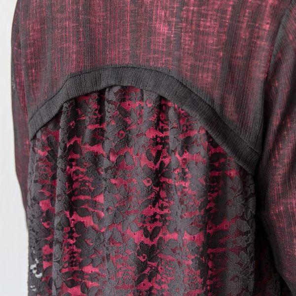 【衣大樂事】MIT仿麻後蕾絲外套