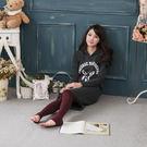 冬天必備 日系高級羊毛保暖褲襪絲襪 加厚拉絨 內刷毛款(棗紅色)