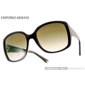 EMPORIO ARMANI 太陽眼鏡 EA4018 501713 (黑) 復古大方框 墨鏡 # 金橘眼鏡