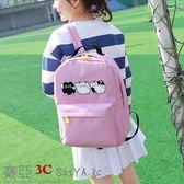 韓版學生後背包書包公主兒童書包減負休閒背包