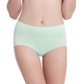 LADY 超彈力親膚無痕系列 高腰低衩三角褲(綠色)